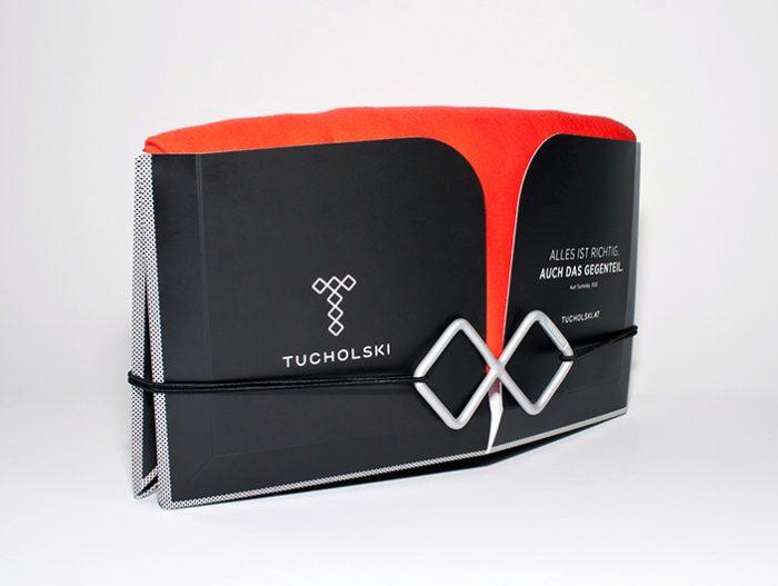 Tucholski Fashion Tuchverpackung