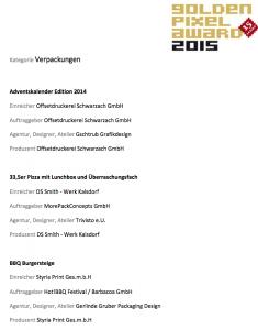 goldenpixel award 2015