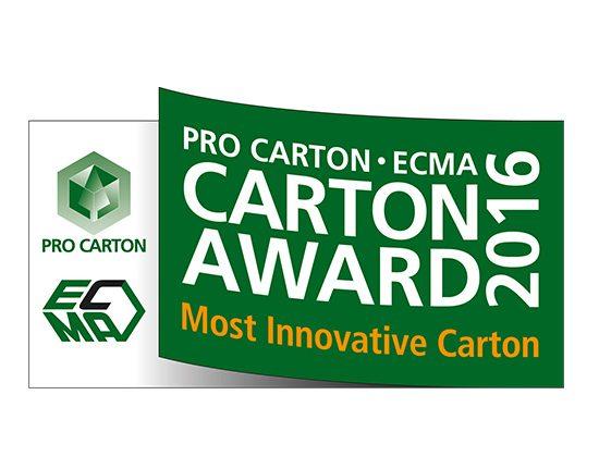 ProCarton ECMA Award Logo Most Innovative