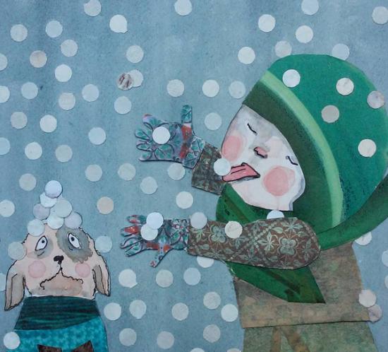 Baby it's cold outside by Renate Groenewoud