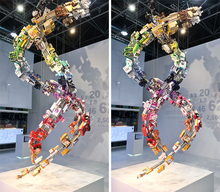 Mayr Melnhof Packaging Sculpture Interpack 2017