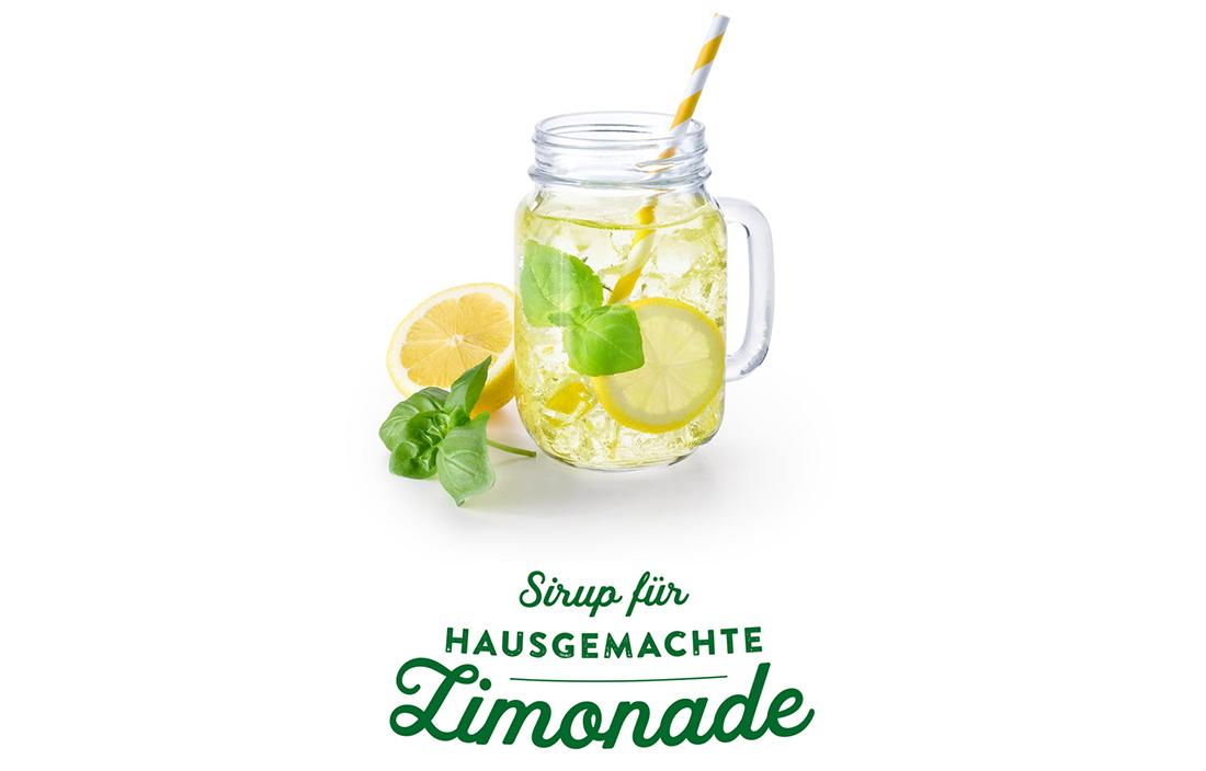 YO Sirup für hausgemachte Limonade